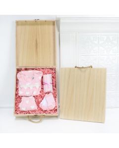 Our Precious Angel Baby Girl Gift Crate