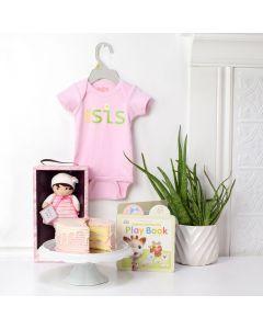 Baby's First Birthday Gift Set, baby gift baskets, newborns, new parents, gift baskets