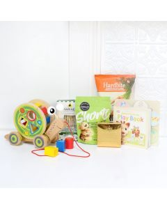 A LOT OF PLAYTIME BABY GIFT BASKET, baby girl gift basket, welcome home baby gifts, new parent gifts