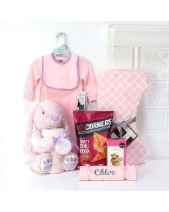 WELCOME MY BABY GIRL GIFT SET, baby girl gift basket, welcome home baby gifts, new parent gifts