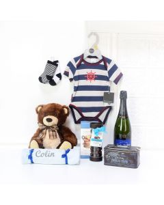 LITTLE HUMAN GIFT BASKET FOR YOUR BABY, baby boy gift basket, welcome home baby gifts, new parent gifts