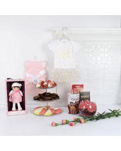 All-Pink Baby Girl Basket