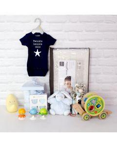 NAP & PLAY BABY BOY GIFT SET, baby boy gift hamper, newborns, new parents