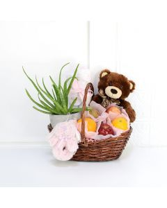 Apples & Aloe Baby Gift Basket, baby gift baskets, baby gifts, gift baskets