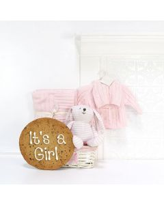 THE CUDDLE BUNNY GIFT BASKET